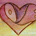 Love Heart 1 by Donna Walsh