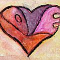 Love Heart 4 by Donna Walsh