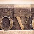 Love In Printing Blocks by Jane Rix