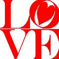 Love In Red by Mariola Bitner