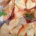 Love In The Rocks Medjugorje 2 by Vicki  Housel