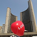 love in Toronto City Hall by Alfred Ng