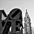 Love Is Just Black And White by Bill Cannon