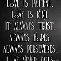 Love Is Patient by Voros Edit