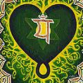 Love Is Spiritual Heart Chakra by Divinity MonSun Chan