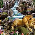 Love Lion Waterfall by Alixandra Mullins