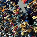 Love Locks Of Prague by Hannah Rose