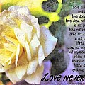 Love Never Fails by Michelle Greene Wheeler