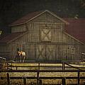 Love Of Country Vintage Art By Jordan Blackstone by Jordan Blackstone