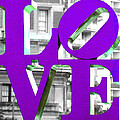 Love Philadelphia Purple by Terry DeLuco