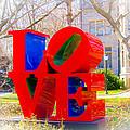 Love Sculpture - Penn Campus by Louis Dallara