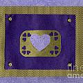 Love Series Collage - Heart 4  by Ellen Miffitt