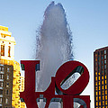 Love Statue In Philadelphia Pa by Bill Cannon