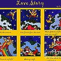 Love Story - The Poster by Cris Motta