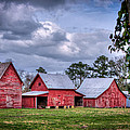 Love The Barns At Windsor Castle by Williams-Cairns Photography LLC
