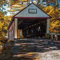 Lovejoy Covered Bridge by Bob Orsillo