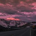 Loveland Pass Sunset by Michael J Bauer