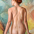 Lovely Back-becca In Abstract by Paul Krapf