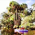 Lovely Kayaker by Alice Gipson