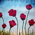 Lovely Poppies by KarishmaticArt -Karishma Desai