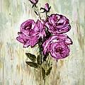 Lovely Roses by Galina Khlupina