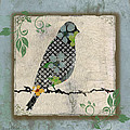 Lovely Song Bird-a by Jean Plout