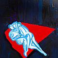 Lovers In Bluebells by Mark Fearn