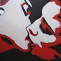 Lovers - Kiss 8 by Carmen Tyrrell