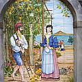 Lovers Picking Lemons by Brenda Kean