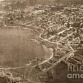 Aerial Of Lovers Point And Pacific Grove California July 10 1906 by California Views Archives Mr Pat Hathaway Archives
