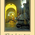 Lovers Sorrento Italy by Michael Moore