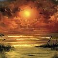 Lovers Sunset by Melissa Herrin