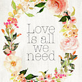 Loves Is All We Need by Tara Moss