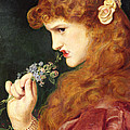 Loves Shadow, 1867 by Anthony Frederick Augustus Sandys
