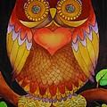 Loving Owl by Lou Cicardo