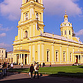 Low Angle View Of A Cathedral, Peter by Panoramic Images