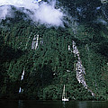 Low Angle View Of A Mountain, Milford by Panoramic Images