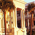 Low Angle View Of Historic Houses by Panoramic Images