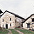 Low Angle View Of Houses In A Village by Panoramic Images