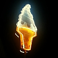 Low Angle View Of Ice Cream Neon Sign by Scott Crayne / Eyeem