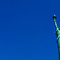 Low Angle View Of Statue Of Liberty by Panoramic Images