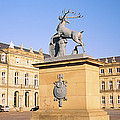 Low Angle View Of Statues In Front Of A by Panoramic Images