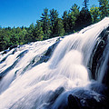 Low Angle View Of The Bond Falls by Panoramic Images