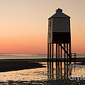 Low Lighthouse Sunset by Anne Gilbert