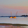Low Tide At Crystal Beach by Bill Cannon