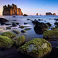 Low Tide At Second Beach by Inge Johnsson