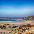 Low Tide At Sennen Cove by Chris Thaxter