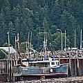 Low Tide Fishing Boat by Cheryl Baxter