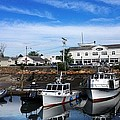 Low Tide Plymouth Ma by Janet Depathy