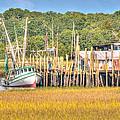 Low Tide - Shrimp Boat by Scott Hansen